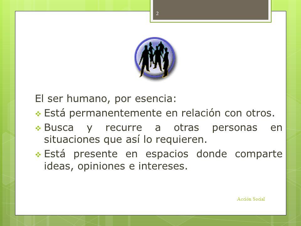 Introducción El ser humano, por esencia: