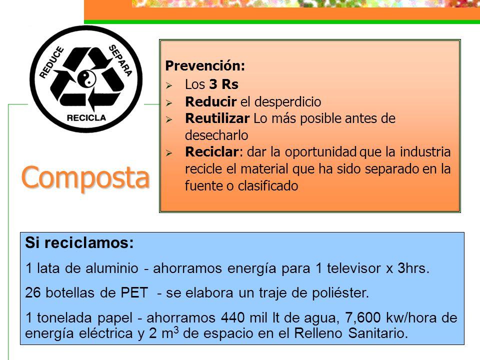 Composta Si reciclamos: