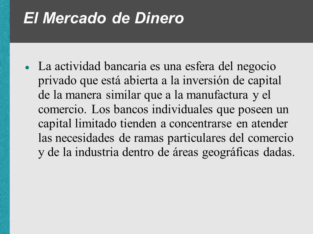 El Mercado de Dinero