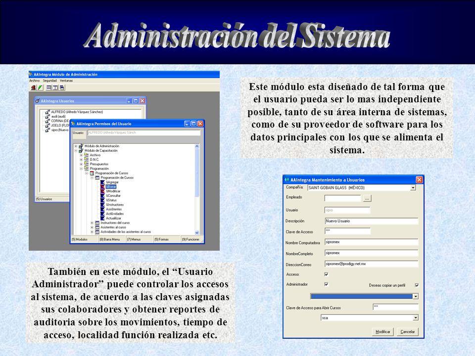 Administración del Sistema