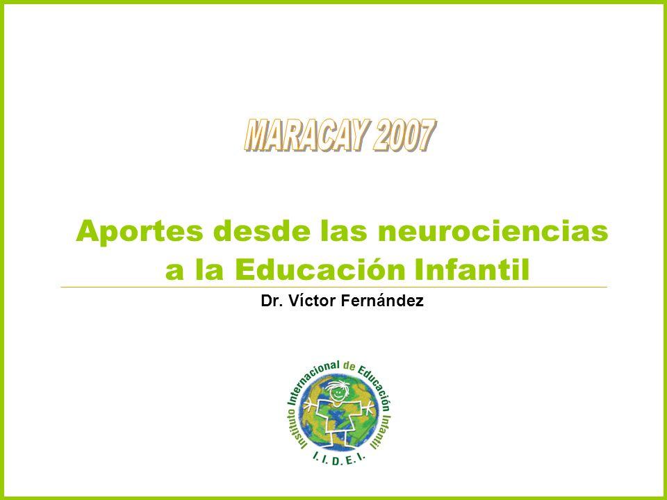 Aportes desde las neurociencias a la Educación Infantil