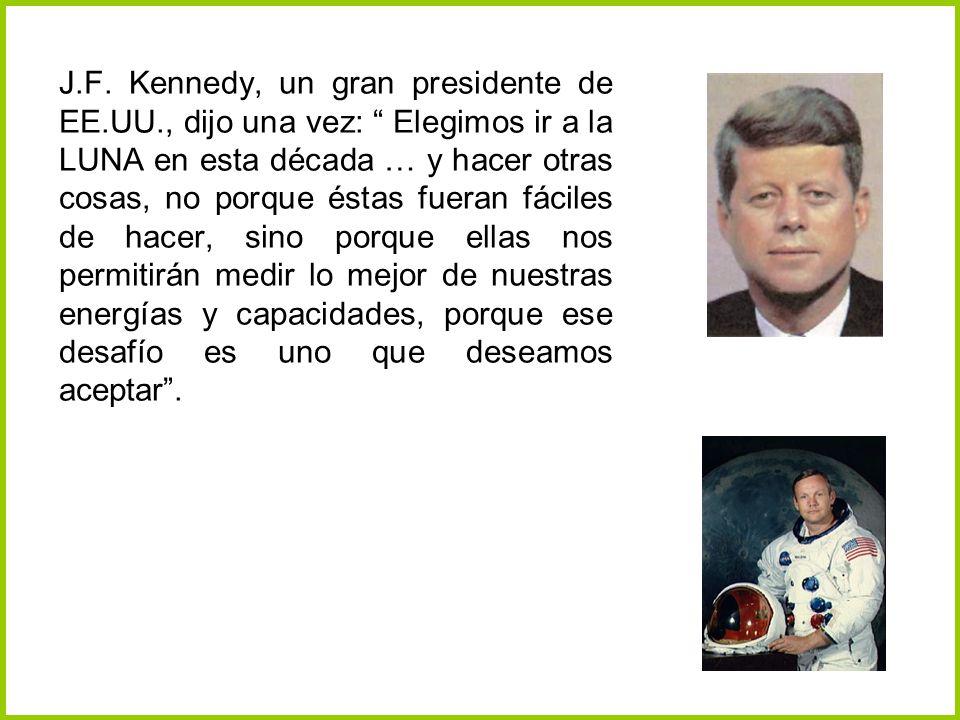 J. F. Kennedy, un gran presidente de EE. UU