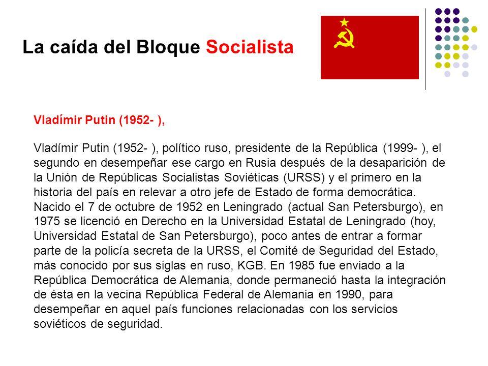 La caída del Bloque Socialista