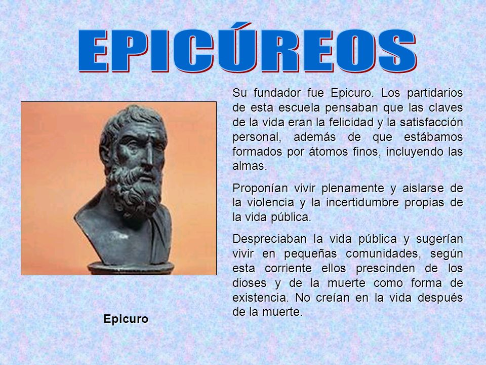 EPICÚREOS