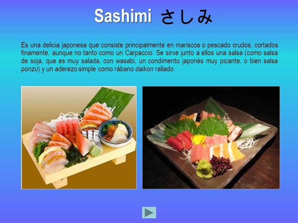 Sashimi さしみ.
