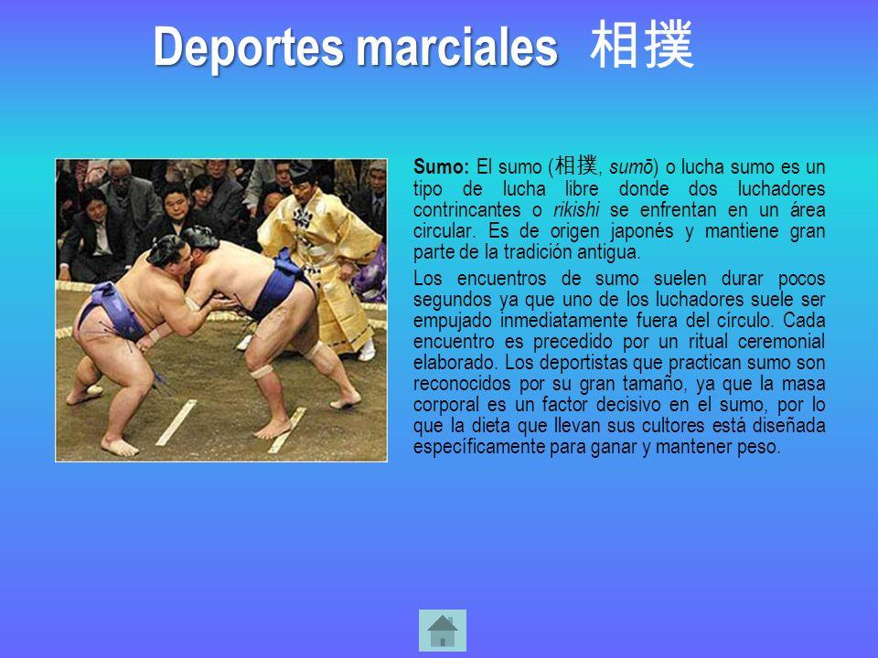 Deportes marciales 相撲.