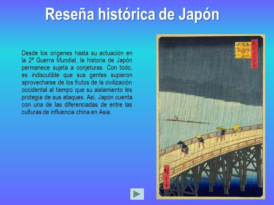 Reseña histórica de Japón
