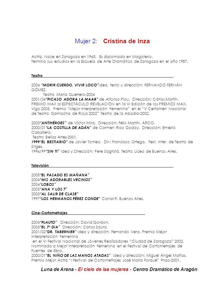 Mujer 2: Cristina de Inza