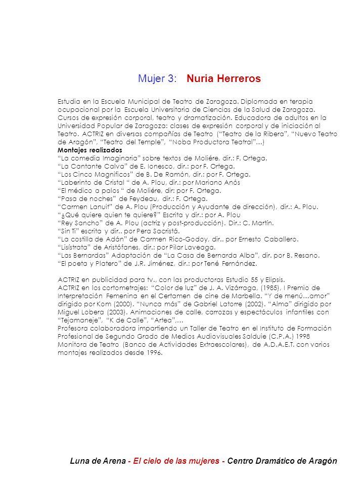 Mujer 3: Nuria Herreros