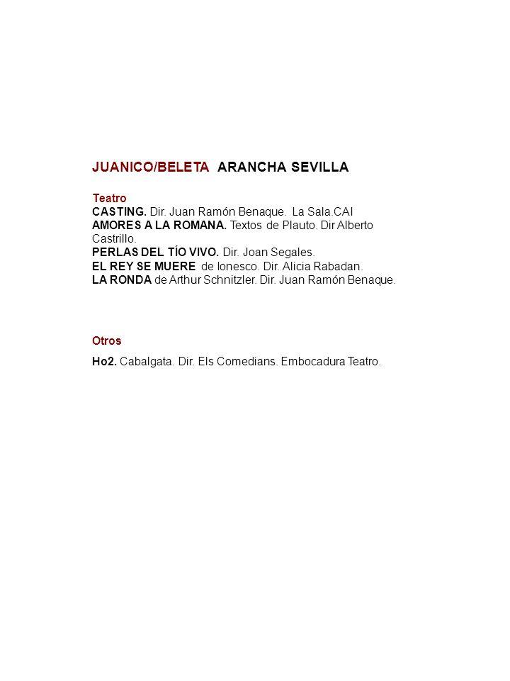 JUANICO/BELETA ARANCHA SEVILLA