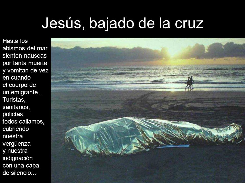 Jesús, bajado de la cruz
