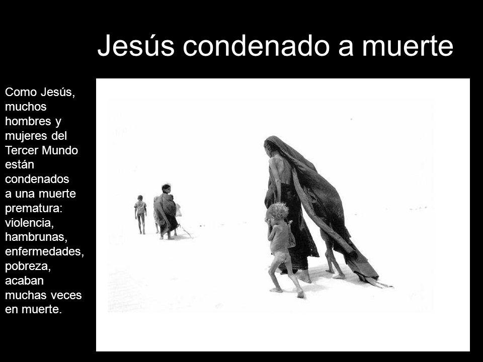 Jesús condenado a muerte