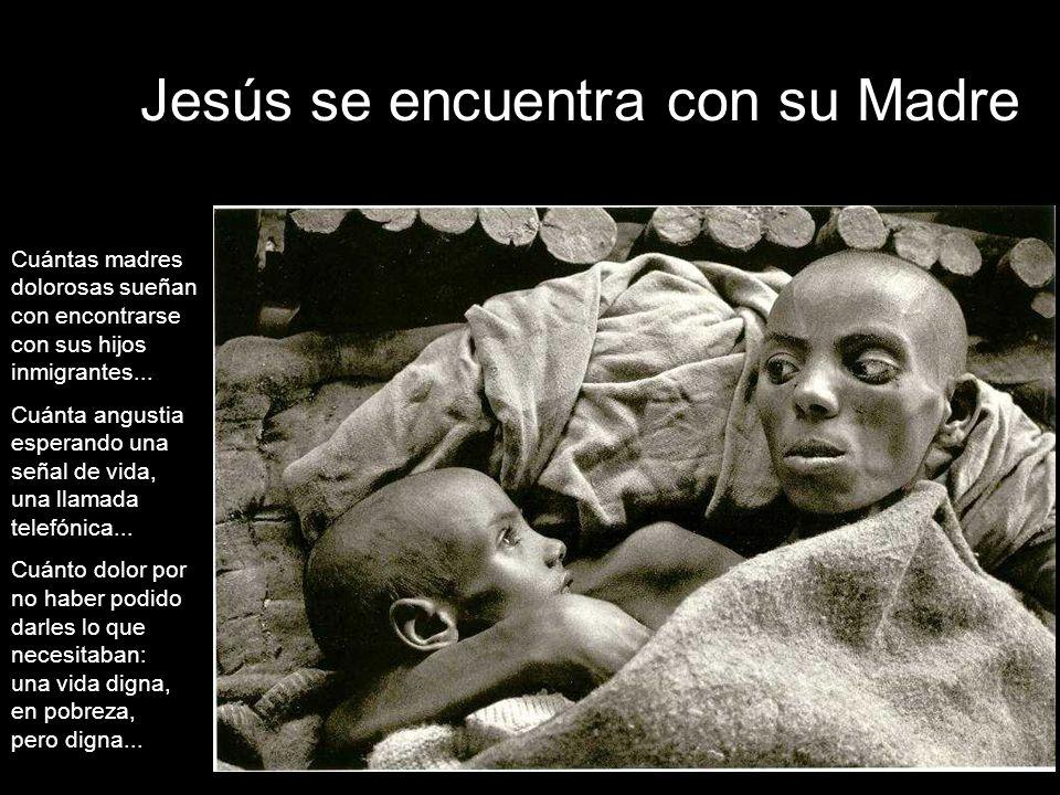 Jesús se encuentra con su Madre