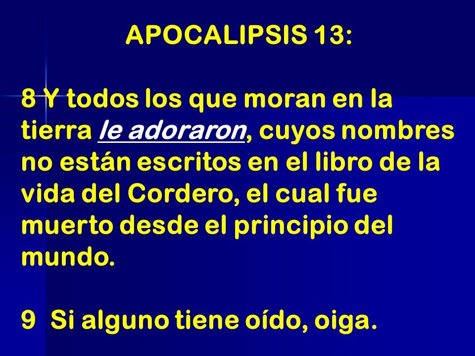 APOCALIPSIS 13: