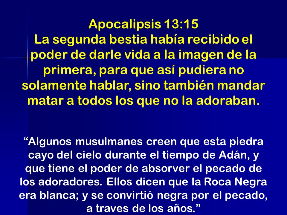 Apocalipsis 13:15