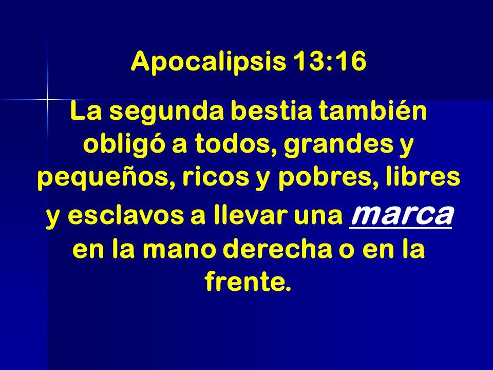Apocalipsis 13:16