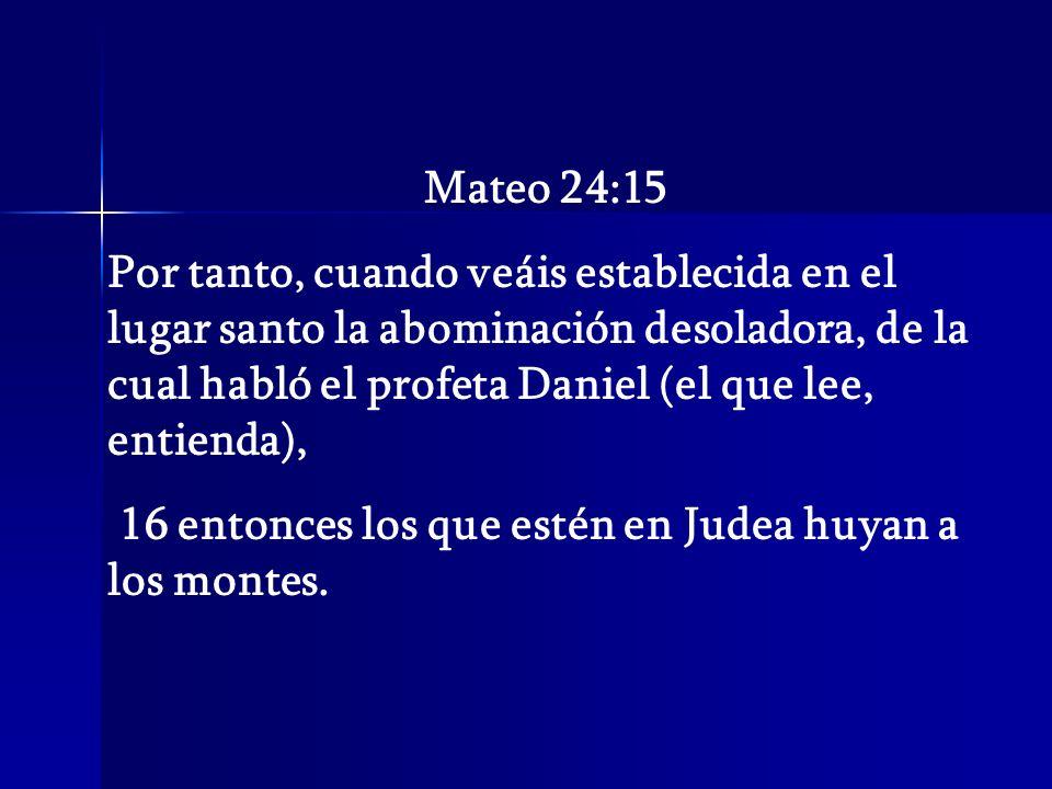 Mateo 24:15