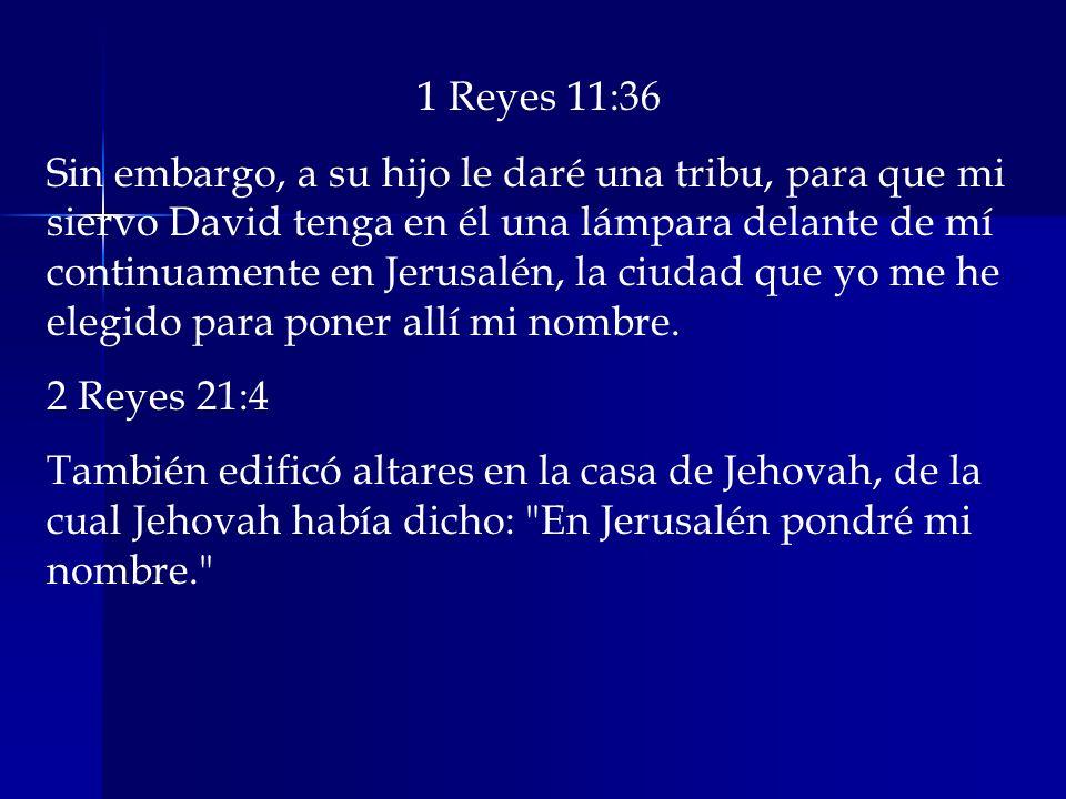 1 Reyes 11:36