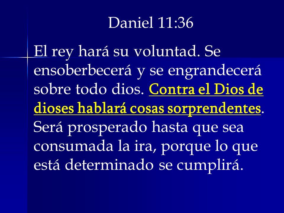 Daniel 11:36