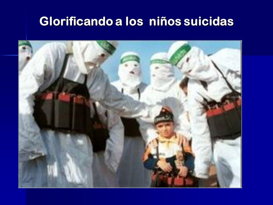 Glorificando a los niños suicidas