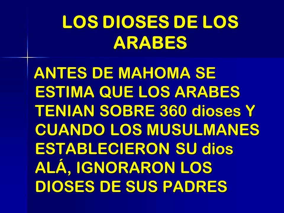 LOS DIOSES DE LOS ARABES