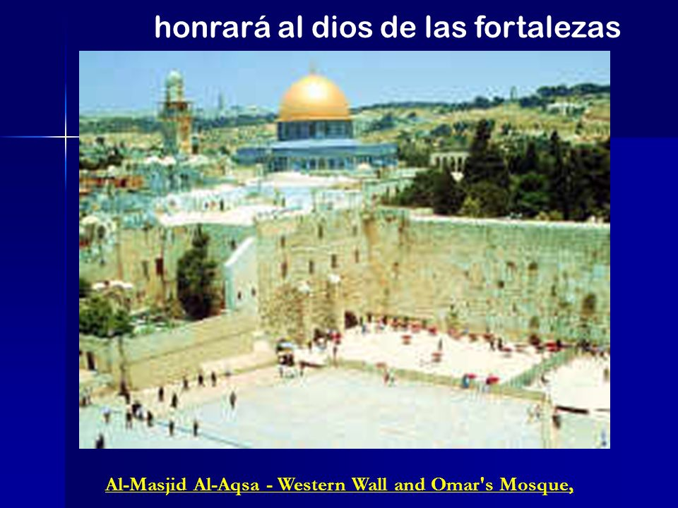 Al-Masjid Al-Aqsa - Western Wall and Omar s Mosque,