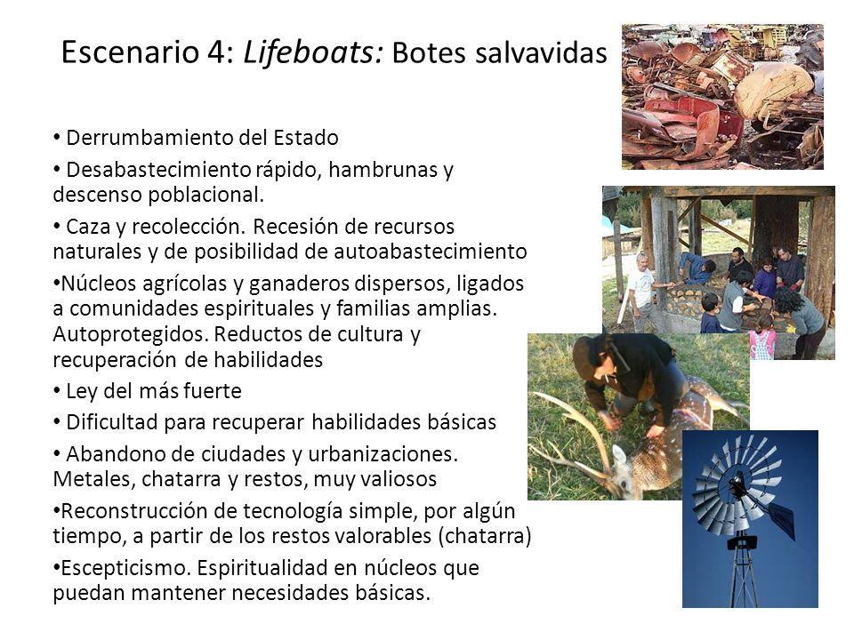 Escenario 4: Lifeboats: Botes salvavidas