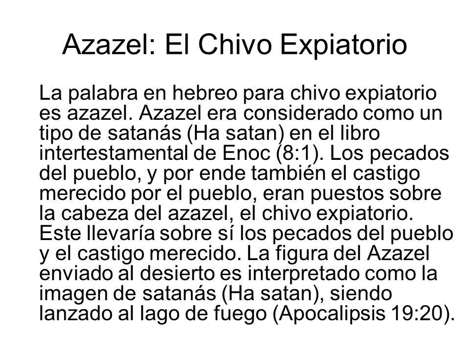 Azazel: El Chivo Expiatorio
