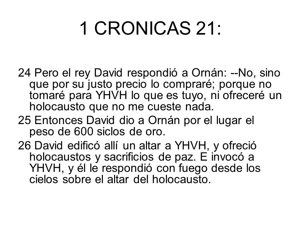 1 CRONICAS 21: