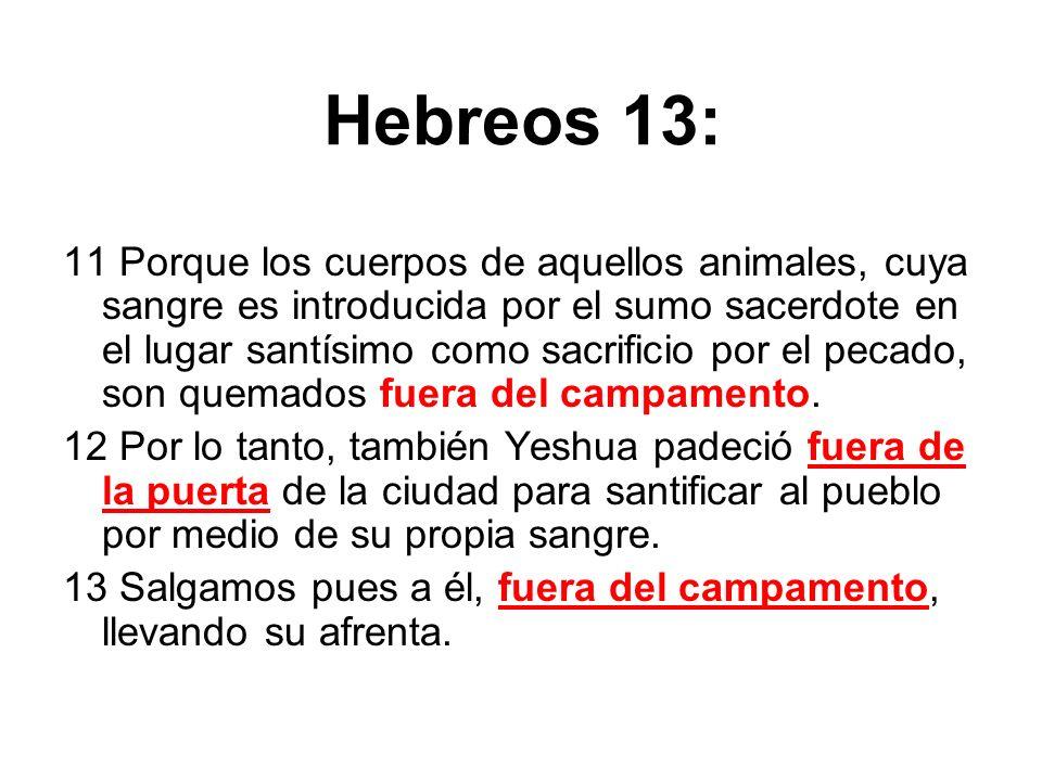 Hebreos 13: