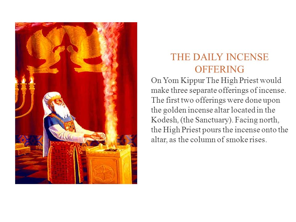 THE DAILY INCENSE OFFERING