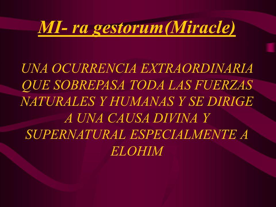 MI- ra gestorum(Miracle)