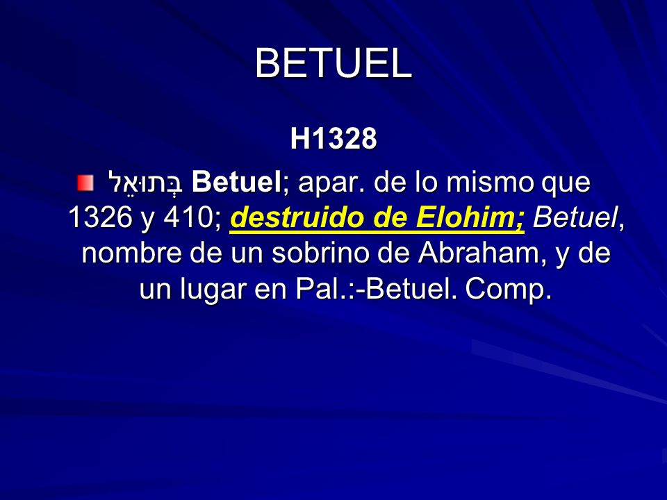 BETUEL H1328.