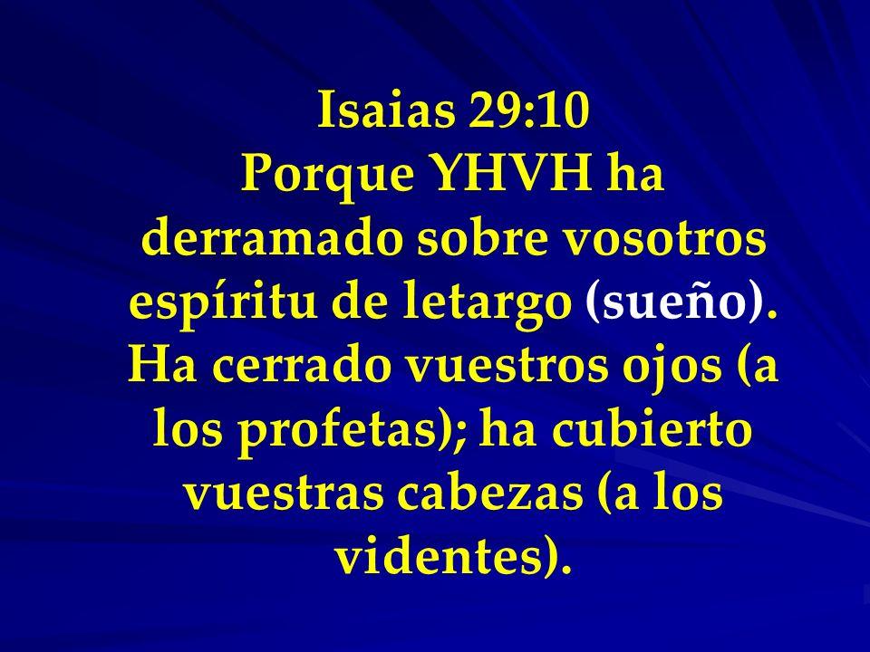 Isaias 29:10