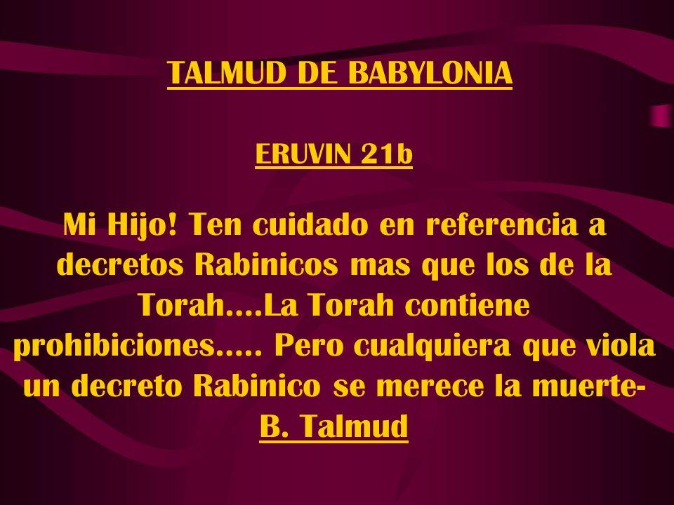 TALMUD DE BABYLONIA ERUVIN 21b.