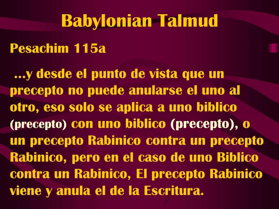 Babylonian Talmud Pesachim 115a
