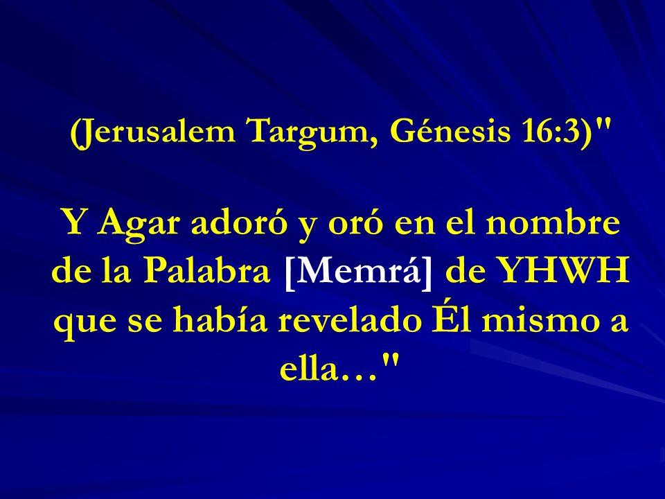 (Jerusalem Targum, Génesis 16:3)
