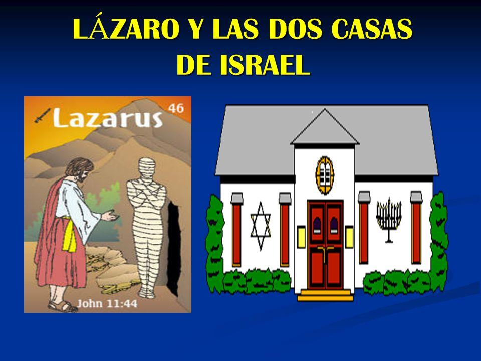 LÁZARO Y LAS DOS CASAS DE ISRAEL