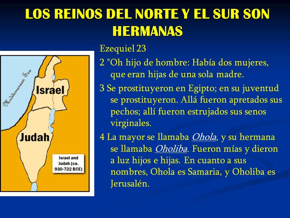 LOS REINOS DEL NORTE Y EL SUR SON HERMANAS
