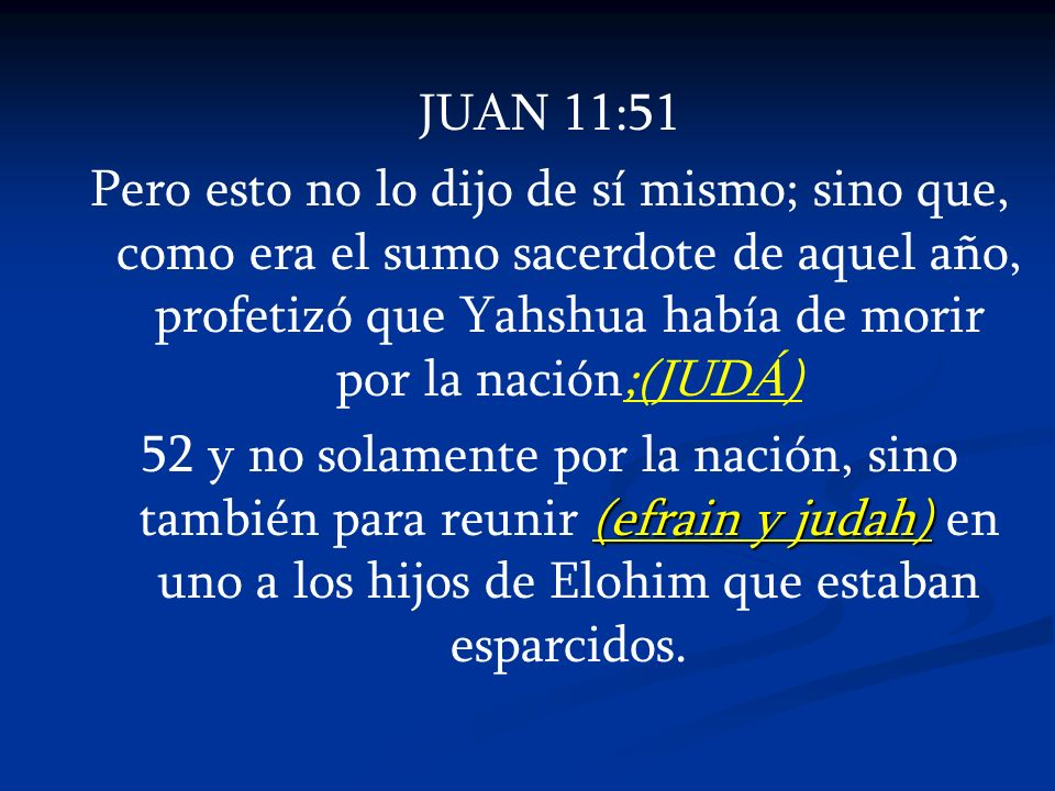 JUAN 11:51