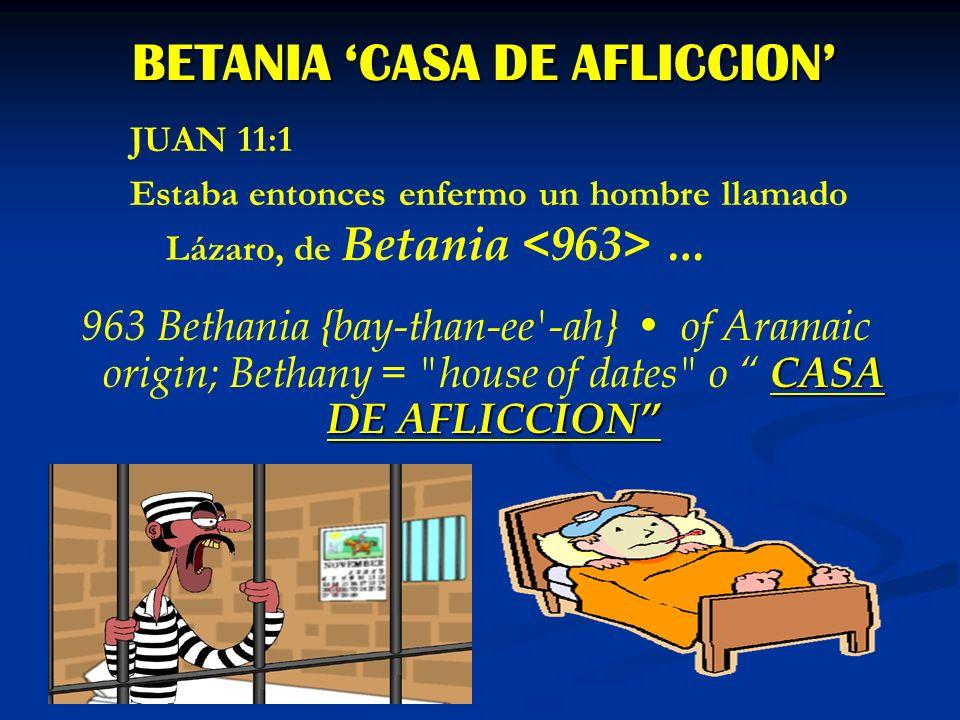 BETANIA 'CASA DE AFLICCION'