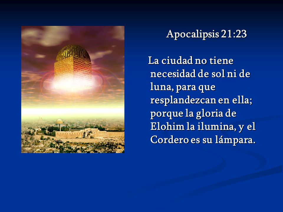 Apocalipsis 21:23