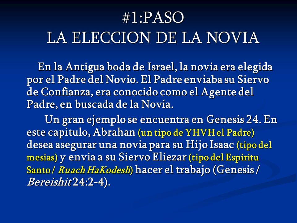 #1:PASO LA ELECCION DE LA NOVIA