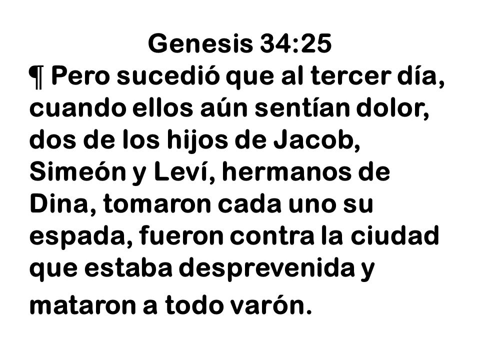 Genesis 34:25