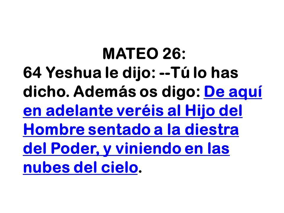 MATEO 26: