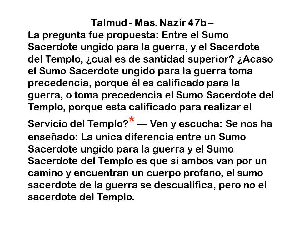 Talmud - Mas. Nazir 47b –
