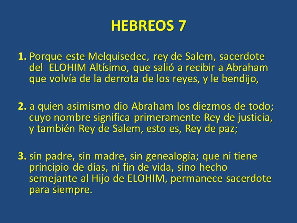 HEBREOS 7