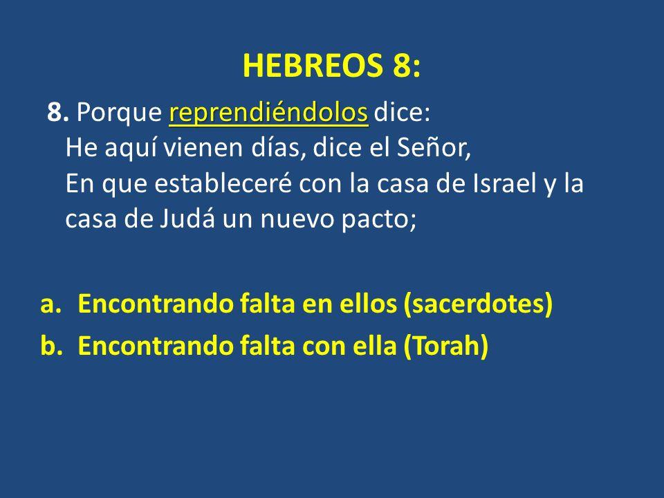 HEBREOS 8: