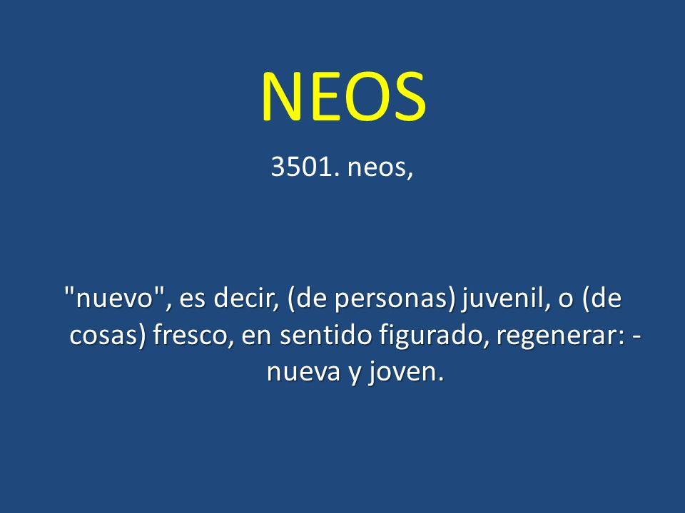 NEOS 3501.