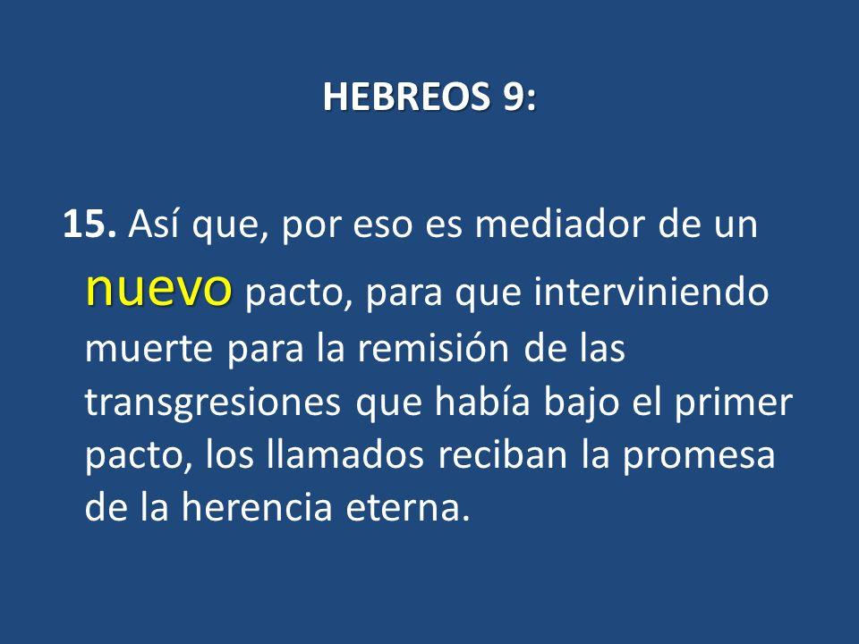 HEBREOS 9: